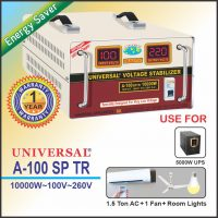 Universal Stabilizer A-100 SP(ENERGY SAVER) 10000 WATTS